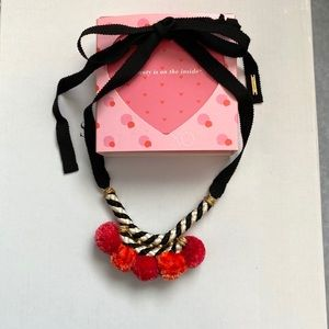 Stella & Dot Napa Pom Pom Necklace